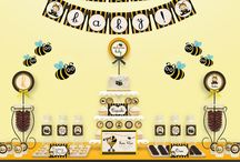 Bumblee bee decor idea