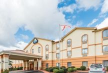 Our Hotel / Rise and shine with free Daybreak breakfast and use free Wi-Fi Internet to plan a trip to the scenic Montgomery riverfront. Relax with a swim in our sparkling outdoor pool or kick back and watch your flat-screen TV. Our Prattville, AL, hotel near Troy University provides handy amenities like microwaves, refrigerators and laundry facilities and kids 17 and under stay free with an adult.