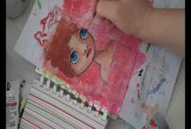 Art Journal - Video Tutes / by Tara Parmer Eastman