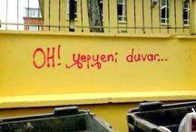 Graffiti-Duvar Yazıları