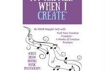 Find Your Creative Freedom / A course to inspire and boost creativity - writing, drawing, photographing, playing!