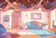 {background painting}