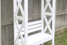 front garden bench