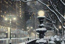 Snow city / by Patricia Tan