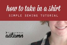 sewing patterns and alterations