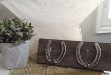 MyPony Horseshoe crafts / https://www.facebook.com/hevosenkenkatyot/