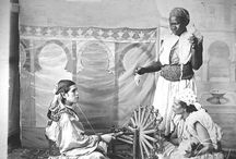 Escenes, A. Cavilla Photographer in Tangier. / Photographies of Anthony Cavilla, photographer born in Gibraltar in 1867.  He had his Studio in Tangier until 1908, where he died.