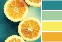 mezclas de color