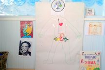 Human body and activities for kids