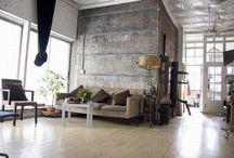 L o f t   L i v i n g / Variations in loft living / by L I F E    W I T H   N A D I N E