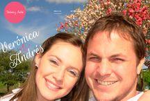 Boda Vero y Andru / Vero y Andru compartieron todos los detalles del dia mas especial de sus vidas, podes verlo en www.veroyandru.com  Contáctanos y cuentanos cual es el tema de tu boda para iniciar el proceso de crear tu pagina web. Nos encanta diseñar y sabemos que cuidas cada detalle de este evento unico e irrepetible! - www.desarrolloydisenio.com