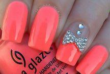 Acrilic nails for summer