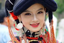 Women From All Around The World in Traditional Dress