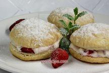Strawberry deserts