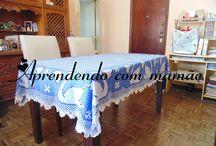 Toalha de cisne bordada em tecido xadrez / toalha bordada no tecido xadrez em  ponto de cruz duplo