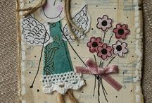 Tags scrapbooking