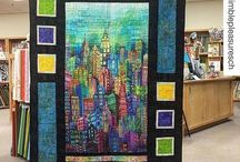 NYC Panel quilts