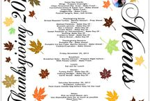 Thanksgiving Plans, Menu, and Day Of Schedule