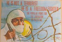 Palestine Liberation Posters / COLLECTION OF PALESTINIAN PROTEST POSTERS ALL POSTERS ARE AVAILABLE FROM VINTAGE NEW ZEALAND POSTERS #Palestine #PFLP