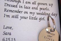 wedding - small touches