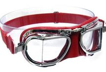 Halcyon Compact Goggles / Compact Style- These compact goggles were created specifically for use with very small to very large modern open face crash helmets. By significantly reducing the frame size and thickness of padding, the goggle will now fit much more freely inside restricted spaces. The compact goggle uses the same quality materials as the original models