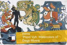 Popol Vuh: Watercolors of Diego Rivera