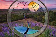 Artes del vidrio / vitreaux