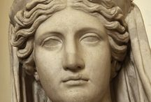 Demeter / Inspiration for my drawing of the goddess demeter