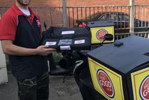 Pizza Go Go franchises delivering with Sweetheat