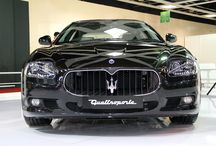 Meet The Maserati Quattroporte - Review / Here we review the Maserati Quattroporti. Make a mark for all the right reasons. #'Maserati