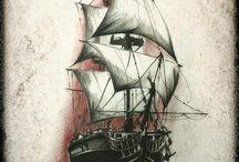 navio/caravela
