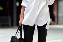 White blouse outfits