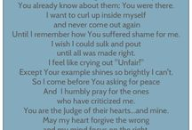 A Prayer for When...