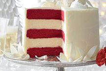 Zoete gerechten en taarten