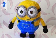 Crochet peluche