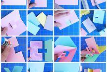 pop-up, kirigami, origami
