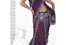 Sarees / Buy Beautiful Indian Heavy Hand Work Designer Saree