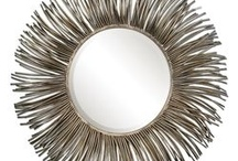 round wall mirrors / Beautiful round decorative wall mirrors for every room in the house. / by the essentials inside