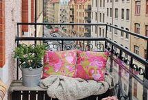 Balcon / Idées d'aménagement pour petit balcon