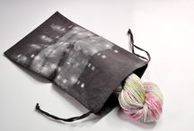 Knit pretties / Pretty accessories for knitters, including fabric to make project bags / by Sharon Boswell