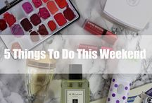 Things to do this weekend / by A Little Obsessed
