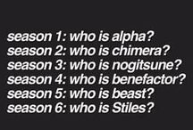 Teen Wolf / First show i watched... *cry* Dylans and Taylors and Crystal and Holland and Arden and Shelley and Daniel and Melisaa...