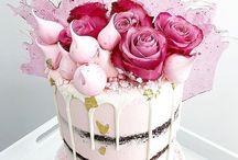 drip cake kobieta
