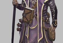 DSA NPC Elves & Mages, the Wielders of Magic