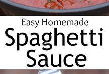 sauce recipes