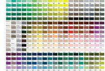 Pantone / Диаграмма цветов
