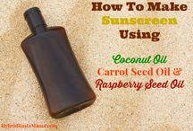 Sunscreen Info