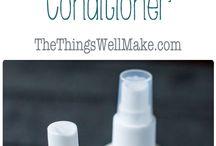 Bath hair conditioner