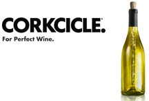 Great GIft Items / Corkcicle!!! www.corkcicle.com   Super cool - keeps your wine chilled while you enjoy your conversation or meal from the inside out!!! / by Heather Howell