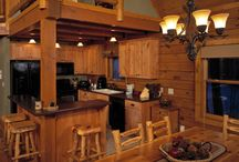 Kitchens | Strongwood Log & Timber Homes / Kitchens by Strongwood and inspirational ideas for Strongwood homes